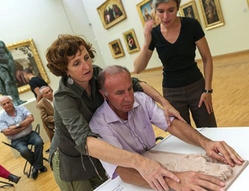 Les expositions rendues plus accessibles aux personnes handicapées