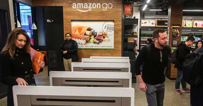 amazon go-superette-caisse