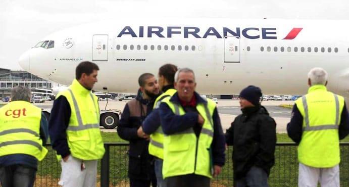 droit de grève-aerien-français