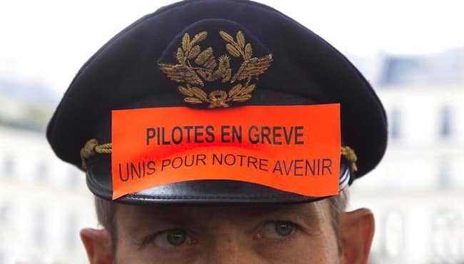 air-france-mouvement-grève