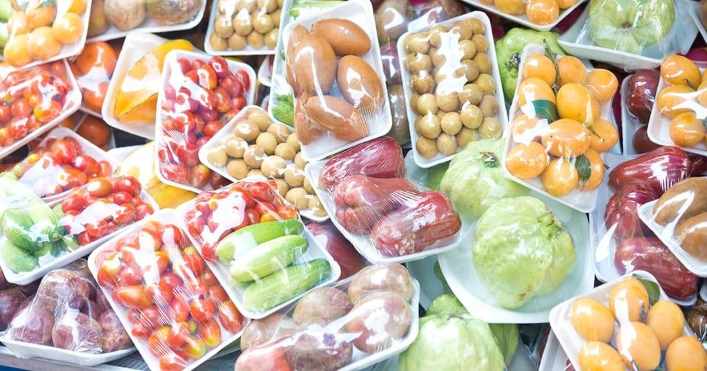 des aliments sous vide