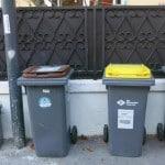 des bacs à poubelles avec le nouveau bac biodéchets