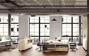 De grands bureaux