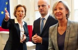 Jean-Michel Blanquer et Sophie Cluzel