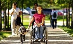 Lain Se Mobilise Pour Le Handicap