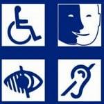 Pictogrammes des differents handicaps