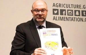 Stephane Travert, ministre de l'Agriculture, parlant de la Bioéconomie