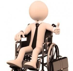 illustration d'un travailleur handicapé