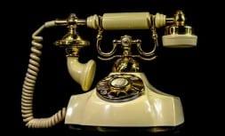 Vieux Te Le Phone A Cadran