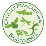 """le logo du prix """"capitale française de la biodiversité"""""""