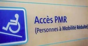 les accès pour personnes à mobilite réduite au coeur de la Loi Elan