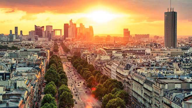 Vue globale de Paris