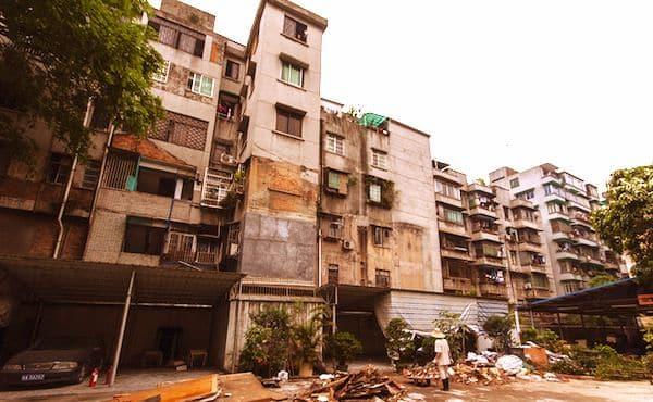 Immeubles délabrés et habitat insalubre