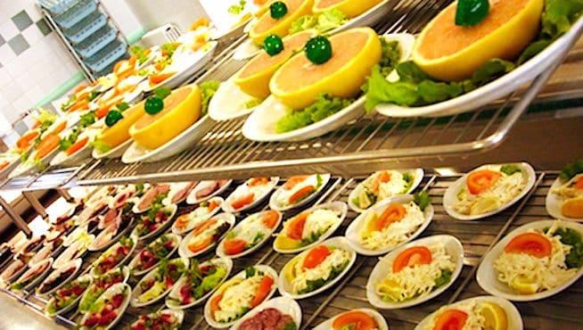 Repas servis en libre service