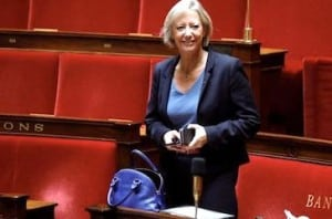 Sophie Cluzel a l'Assemblee nationale