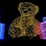 un nounours en illumination