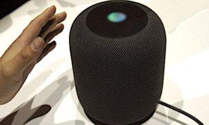 Le HomePod d'Apple une des nouvelles enceintes connectées