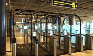 Portiques d'aeroport