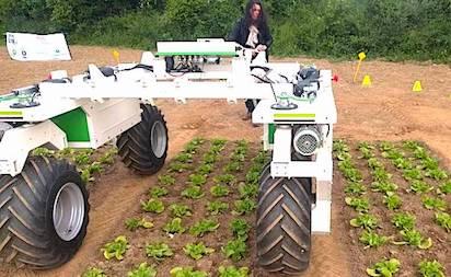 Robot Agricole En Action