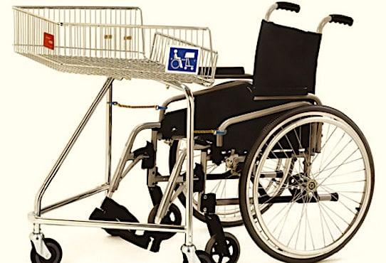 Caddie pour personne handicapee