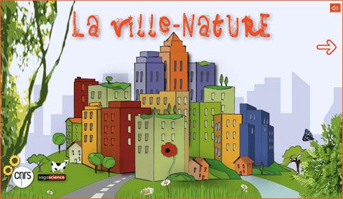 dessin représentant des immeubles: la ville nature