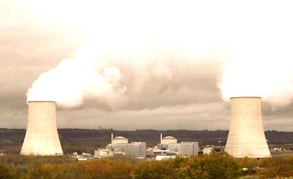 Une centrale nucleaire