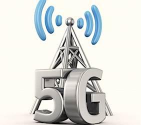 Dessin representant la technologie 5G.