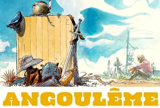 Affiche du Festival de la BD d'Angouleme.