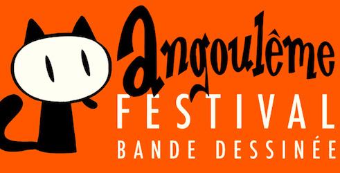 Annonce pour le Festival de la BD d'Angouleme.