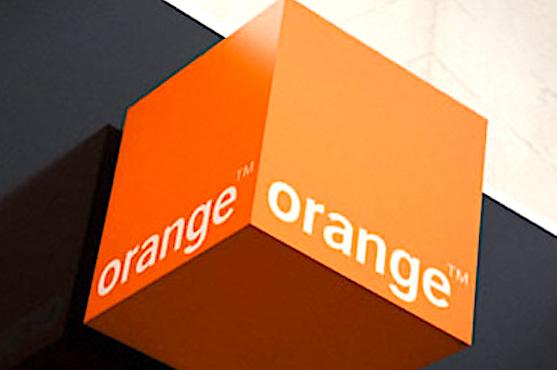 Enseigne de l'operateur Orange.