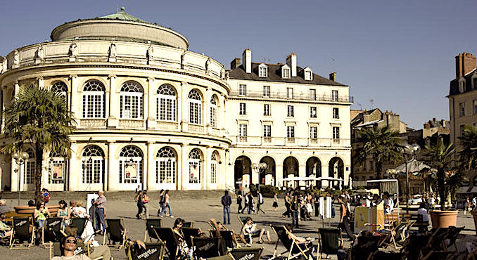 La ville de Rennes.