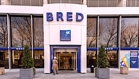 Une agence BRED