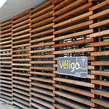 un panneau Véligo
