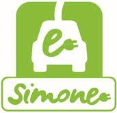 le logo des bornes de recharge électrique Simone