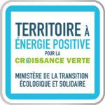 le logo des territoires à énergie positive