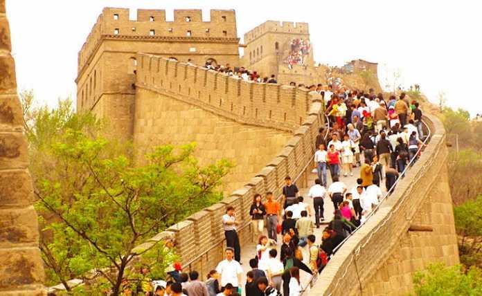 La Chine se développe beaucoup dans le secteur touristique.