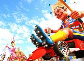 Pendant le Carnaval de Nice, un test de reconnaissance faciale a été mené.