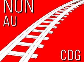 Le carton rouge contre le projet du CDG Express montre clairement un refus.