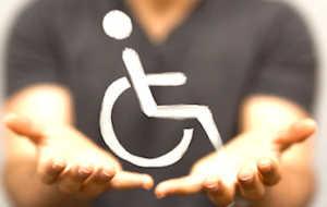 visuel pour illustrer le point sur la hausse des dépenses sociales en faveur du handicap