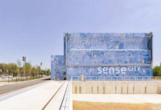 Sense-City est une plateforme urbaine où peut simuler tous les climats.