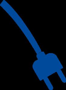 une prise électrique: symbole de l'énergie propre