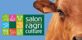 l'affiche du salon de l'agriculture avec une vache