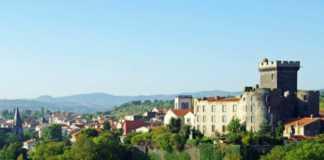 des vignes autour de Clermont-Ferrand