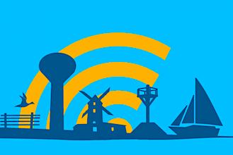 En France, 224 communes ont été sélectionnées par l'UE pour qu'elles installent des bornes Wi-Fi gratuit.