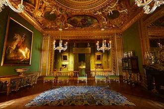 Le château de Vaux-le-Vicomte regorge de vestiges fastueux.