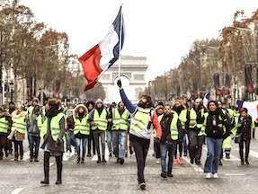 L'image négative donnée à l'étranger par les Gilets jaunes freine beaucoup le tourisme.