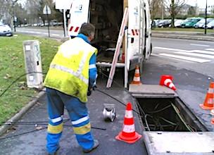 Courbevoie va renforcer son réseau de services fournis par fibre optique.