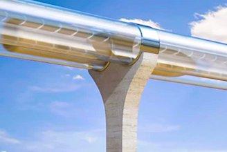 Dans la région de Toulouse, le projet de train hyper rapide Hyperloop avance.