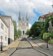 une vue de la ville d'Angers engagée dans le schéma directeur du végétal