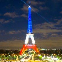 La Tour Eiffel résume à elle seule l'image de Paris.